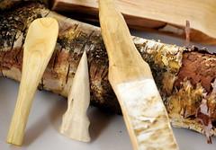 Hand Crafted Bushcraft items (J*A*L) Tags: closeup carving handcrafted bone jpeg arrowhead woodenspoon primitive strop piptoporusbetulinus bushcraft birchpolypore nikkor55mmf35 nikond3 spooncarving primitivecrafts bonearrowhead knifestrop