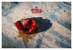 Rotten hope (s1nano) Tags: fruit greek hope places greece rotten pricklypear nafplio syriza nikkorafsdx1855mmf3556gvr