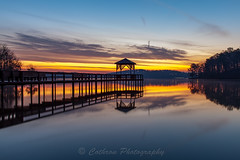 Reflected Pier (John Cothron) Tags: longexposure winter sky usa cloud cold reflection beach nature digital sunrise georgia landscape pier morninglight us outdoor unitedstatesofamerica scenic sunny lakeshore thesouth dixie clearsky dawsonville lakelanier forsythcounty americansouth southernregion 35mmformat warhillpark johncothron canoneos5dmkii southatlanticstates leefiltersystem cothronphotography 3stopneutraldensityfilter reflectedpier zeissdistagont352ze lee90nd johncothron img12881160308
