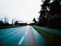 Le Mans, France (Alien Light Beam) Tags: winter paris france mamiya film colors la europe kodak racing mans le hour experience medium format 24 portra f28 45mm 80mm sarthe photovision afd645