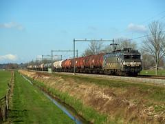 HSL 1832 (jvr440) Tags: railroad train 1600 1800 railways trein amersfoort spoorwegen freighttrain soest 1832 hsl logistik eempolder goederentrein ketelwagen