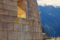 Machu Picchu window (Herculeus.) Tags: peru june architecture clouds buildings outdoor indians machupicchu incan archeologicalsite 5photosaday architectureinpixels indianmiddleandsamerican