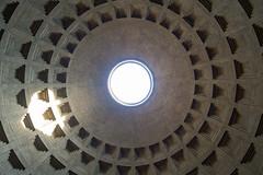 Luz exterior (luisetegt) Tags: roma adriano cpula agripa imperioromano antiguaroma pantendeagripa pantenderoma marcoagripa