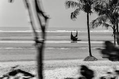 Untitled ... (R.I.Jewel) Tags: landscape boat blackwhite bangladesh seabeach coxsbazar