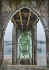 Under the Yaquina Bay Bridge (Harold Davis) Tags: oregon newport