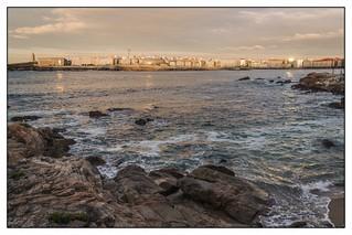 Vista de A Coruña
