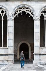 Camposanto Vecchio (I l'aria) Tags: tourism pisa piazza duomo turismo leaningtower turisti miracoli torrependente marmo piazzadeimiracoli camposanto