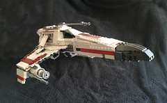 IMG_1272 (lee_a_t) Tags: starwars fighter lego xwing spaceship ewing rebels starfighter darkempire legoxwing legostarfighter legoewing