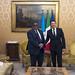 Renzi riceve il Primo ministro della Somalia