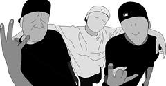 I Colle senza faccia (DenyTTRlover) Tags: blackandwhite danno illustrator ai adobeillustrator cdf collederfomento masito djbaro