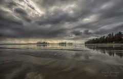 Chesterman Beach (Freshairphotography) Tags: tourism beach clouds reflections stormy tofino westcoast tidepools tidal rainfall chestermanbeach beautifulbc ilovetofino