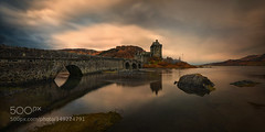 Eilean Donan Castle... (PhoenixRoofing164) Tags: bridge panorama castle sunrise scotland long exposure eilean donan kucharski