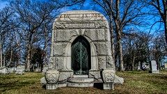 Woodlawn Cemetery Detroit, MI (Crunch53) Tags: cemeteries cemetery graveyard mi michigan detroit woodlawn