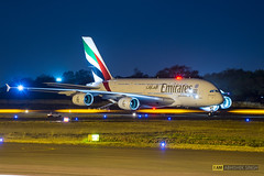 Emirates Airbus 380 (WeChitra Photography) Tags: travel fly flying wings dubai aviation air transport flight jet emirates engines transportation airbus a380 hyderabad airlines takeoff abhishek airliner aerospace singh 380 jetliner aviationphotography aviationphotographerindia a6eov indiaaviation2016 besta380picture besta380photo nightshota380 twilightabhisheksingh bestaviationphotographerindia