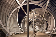 Pasarela de Arganzuela (Jose_edit) Tags: madrid parque rio de puente noche la footbridge structure architect pasarela dominique perrault estructura arquitecto arganzuela