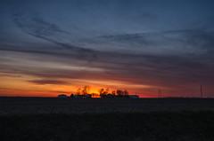 Sundown Farm (MattPenning) Tags: sunset sky field clouds rural pentax farm horizon sigma potd k5 skyclouds farmfield centralillinois mattpenning kmount sigma1020mmf456exdc mattpenningcom penningphotography justpentax pentaxk5