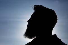 backlit (mjwpix) Tags: silhouette beard backlit ef135mmf2lusm canoneos5dmarkiii cosimomatteini michaeljohnwhite mjwpix