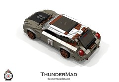 LUGNuts Custom ThunderMad Shooting-Brake Rat-Rod (lego911) Tags: auto 2002 ford car modern wagon volvo model rat lego render convertible retro smell shelby rod shooting 102 brake hatch mustang custom thunderbird coupe challenge v8 cad lugnuts supercharged roadster povray ratrod moc ldd miniland mk11 shootingbrake c30 supercharge lego911 mkxi thundermad ismellamodernrat