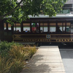 Christchurch City Mall (ropergees) Tags: city christchurch mall tram bcd isthmus