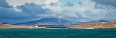 View over Traigh Mhor Bay to Fuday (David Jones 2) Tags: beach bay scotland outer barra hebrides mhor traigh