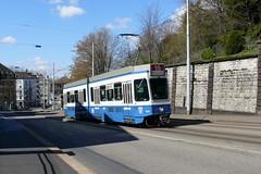 Tram 2000 2005 (V-Foto-Zrich) Tags: tram zrich vbz verkehrsbetriebe zrilinie