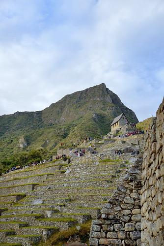 Visitors waiting for sunrise at Machu Picchu in Peru-05 5-25-15