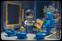An unexpected invitation (Priovit70) Tags: lego space invitation spacestation benny minifigs blips mrrobot sigfig cremonabricks olympuspenepl7