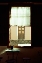 from the inside (Ana Caprini) Tags: film analog 35mm 50mm lomography analógica pentax filmcamera filme pentaxmx redscale