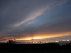 sunset light (rospix+) Tags: uk light sunset sky nature wales clouds countryside april 2016 rospix