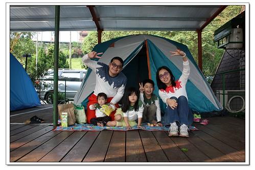 《幸福露營|04》峨眉湖吾家農場露營區&細茅埔吊橋散步