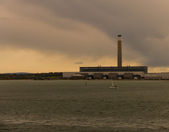 Southampton Water (Andy Latt) Tags: light sea clouds coast sony southampton fawley southamptonwater andylatt rx100m3 dsc01304r