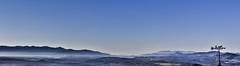 Panorama y veleta (Ignacio M. Jimnez (antes hermano Montgolfier)) Tags: panorama espaa mountains landscape spain paisaje andalucia weathervane jaen vane andalusia montaas ubeda veleta