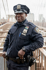 Joseph (mickyates) Tags: life street leica bridge vacation portrait people usa newyork brooklyn march us outdoor candid documentary police sl cop lightroom brroklyn 601 2016 varioelmarit 2490mm