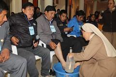 Jueves de Reflexin (http://www.munitusi.gob.pe/) Tags: de y pascua pies jueves cena santo funcionario eucaristia ltima lavado dicipulos mayordomos