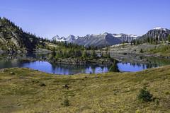 Rock Isle (ben_leash (Gone in May)) Tags: blue lake canada rock rockies sony alberta banff isle a77 banffnationalpark canadianrockies rockisle