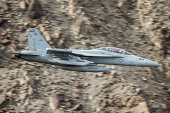 Growler low level (Nick Collins Photography, Thanks for 1.8+m views) Tags: china lake canon flying rainbow aircraft aviation military low navy canyon level jedi boeing transition 500mm usn vampires naws fastjet vx9 7dmk2