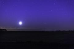 Lune dans le taureau-1 (Franois laxonais) Tags: moon night lune outdoor nuit voie milkyway lacte