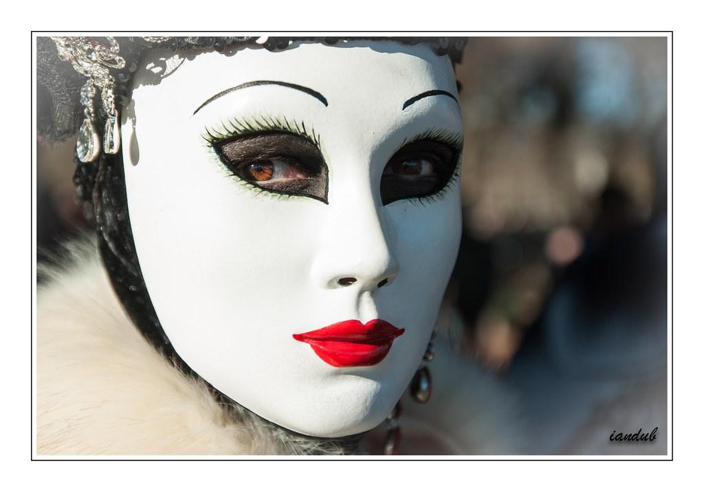 Beautiful masked bbw