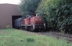 Nagold  2010  294 749 (w. + h. brutzer) Tags: analog train germany deutschland nikon eisenbahn railway zug trains db 290 diesellok nagold eisenbahnen v90 webru bahndienst