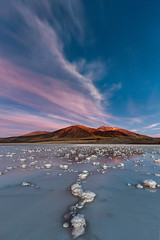 Laguna Tuyajto (vglima1975) Tags: longexposure nightphotography travel nature clouds landscape atacama sanpedrodeatacama atacamadesert inexplore