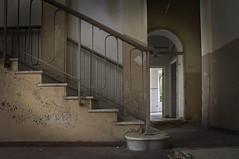 (eLe_NoiR) Tags: abandoned scale stairs decay forgotten decadence abandonedplaces abbandono abbandonato decadenza elenoir