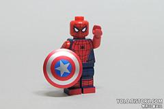 LEGO CIVIL WAR SIPDERMAN MINIFIGURE BY HOBBYBRICK (ykwan0714) Tags: war lego civil minifigure sipderman hobbybrick