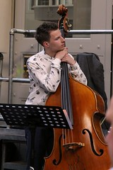 William Barrett 7456-9_7955 (Co Broerse) Tags: music amsterdam jazz cva doublebass hallen dehallen 2016 jazznight williambarrett conservatoriumvanamsterdam composedmusic cobroerse foodhallen defoodhallen