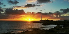 IMG_20160208_174803 (ileniasavalli) Tags: light sunset sea sky italy lighthouse landscape faro island italia colours places sicilia trapani favignana terramia isoleegadi siciliabedda puntasottile bautifulcolours