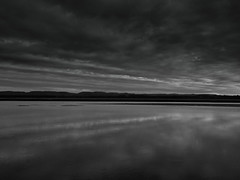 i got stripes bw-4170039 (E.........'s Diary) Tags: sunset reflection river scotland fife calm tay eddie newburgh rossolympusomdem5markiiscotlandapril2016newbur rossolympusomdem5markiiscotlandapril2016newburghfifespring