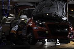 Work in the night (ClaudioMio_) Tags: italy nikon italia rally nikkor sanremo 2016 carracing rallysanremo 1685mm nikkor1685mm d5100 nikond5100