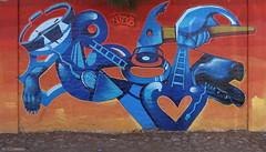 Sermob (BE'N 59) Tags: en streetart blanco sanmigueldeallende mexique muros