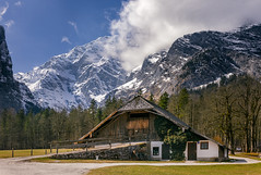 Knigssee (volkerhandke) Tags: mountains germany bavaria berchtesgaden cabin europe htte knigssee stbartholom