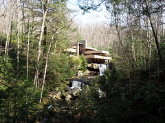 Fallingwater from a distance (pilechko) Tags: house architecture franklloydwright fallingwater