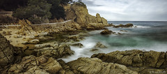 Cala_St_Francesc_8 (xrosellop) Tags: sea mar sand abril playa arena cala rocas platja blanes francesc 2016